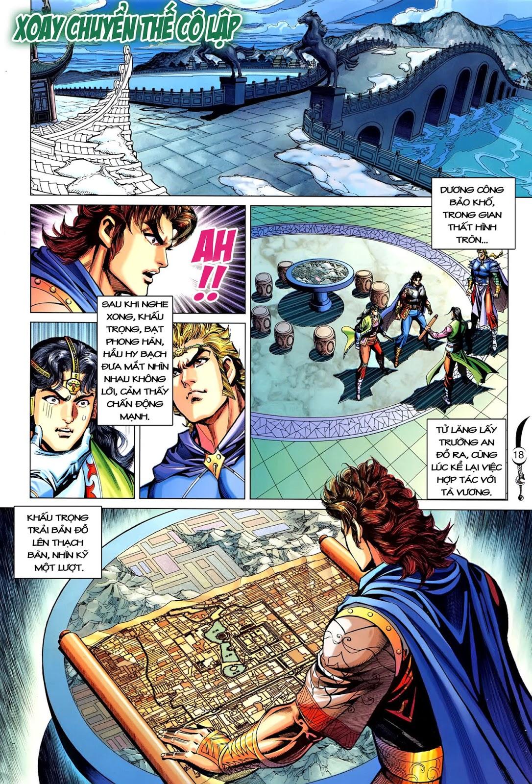Đại Đường Song Long Truyện chap 216 - Trang 20