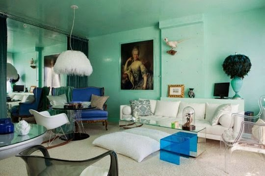 Lucite+green+interior+design