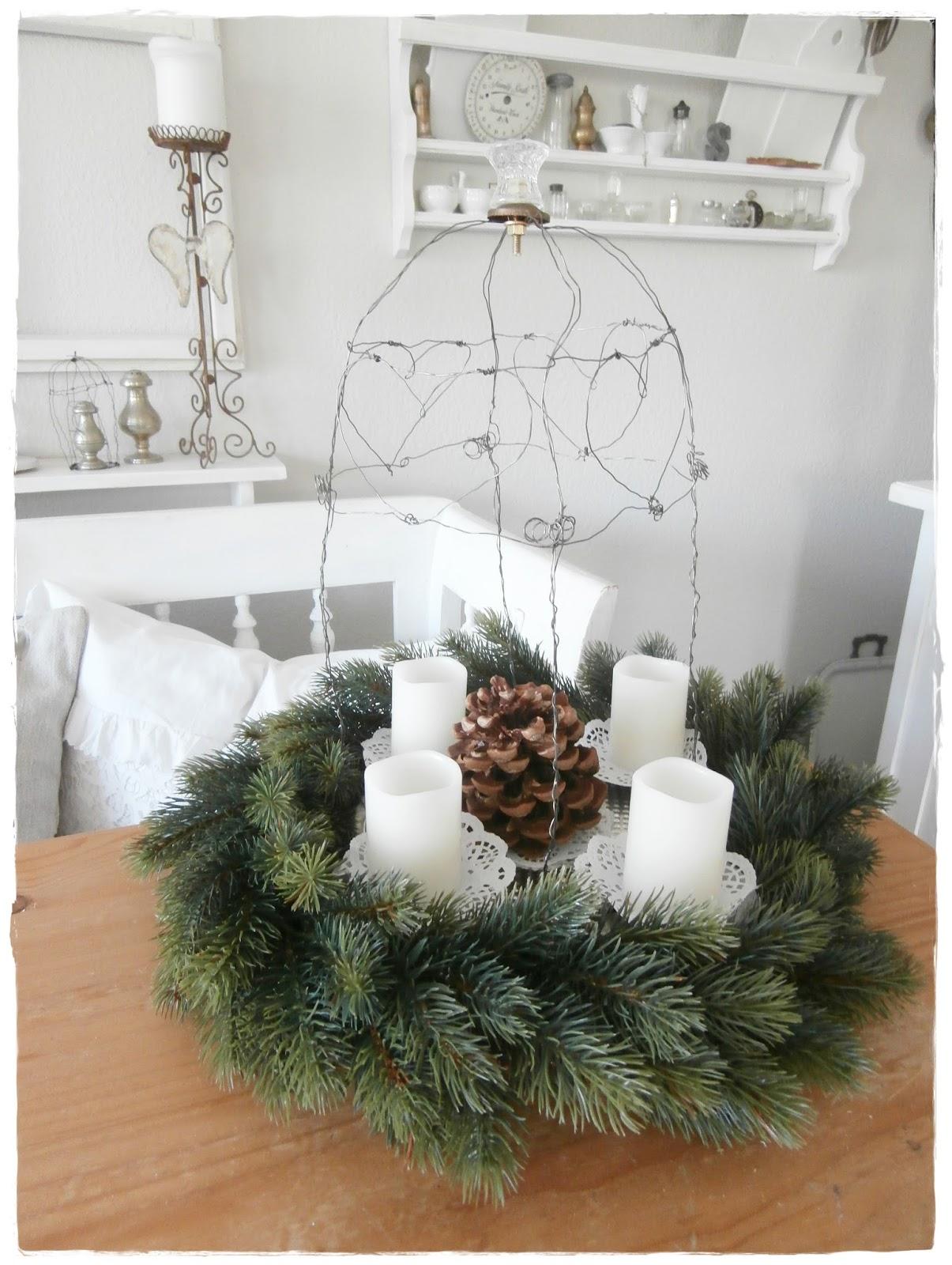 Shabby Landhaus: Weihnachtsdeko.....
