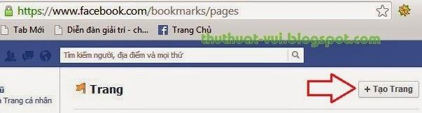 Cách tạo Fan Pages trên Facebook - lập trang FB, tao trang facebook
