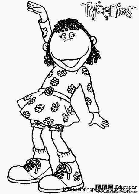 Tweenies Coloring Pages Free Coloring Pages