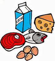 Dibujos de Alimentos Constructores 4