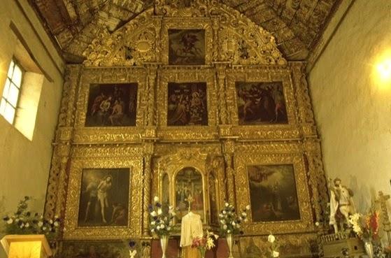 Templo de Santiago Apostol en Tupátaro, Michoacán (fotografía propiedad de Sectur Michoacán)