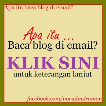 Baca blog di email