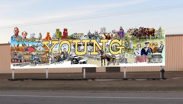 Young Mural Detail