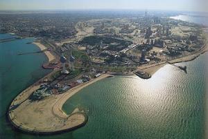 Kuwait desde el cielo
