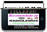 Logo recomendacións en radioleiros
