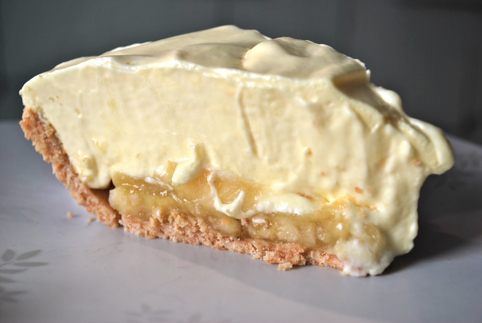 Joyful Baker: Banana Cream Pie
