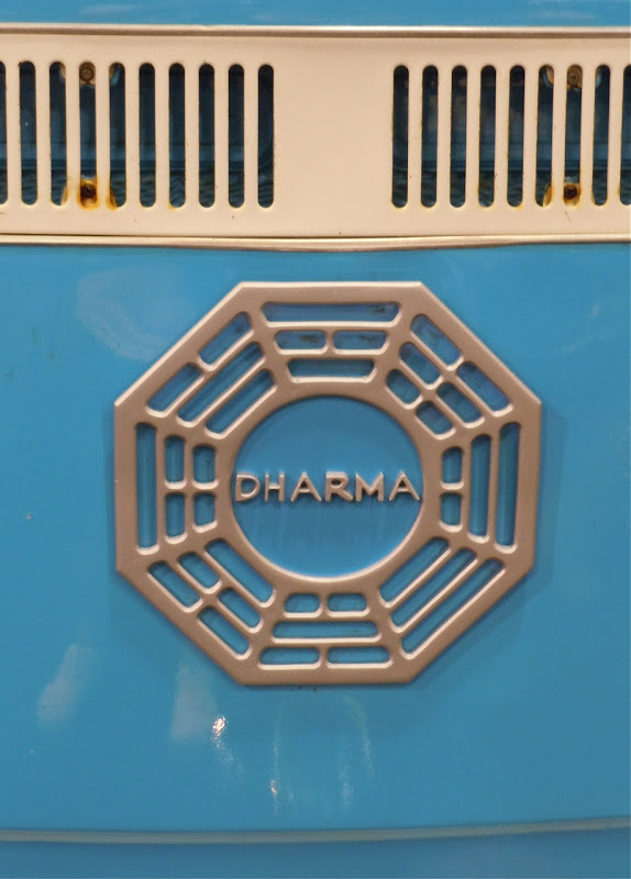 Dharma Initiative van logo LOST