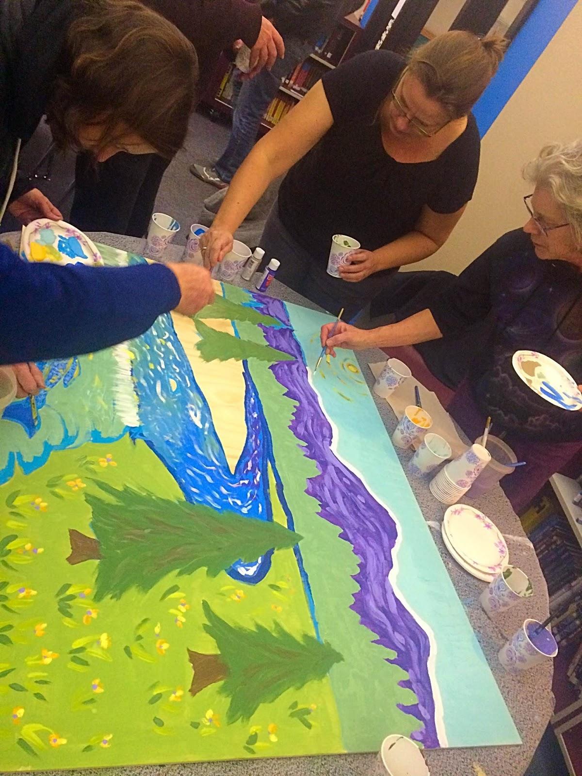 The talking walls teaching teachers mural making for Classroom mural