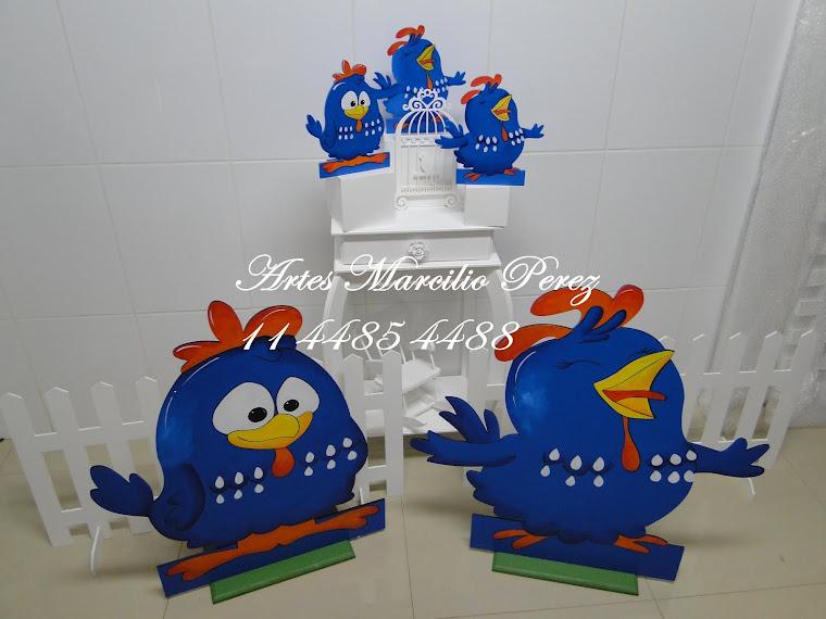Conjunto Display galinha Pintadinha