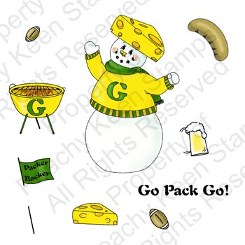 Green Bay Packers Stamps