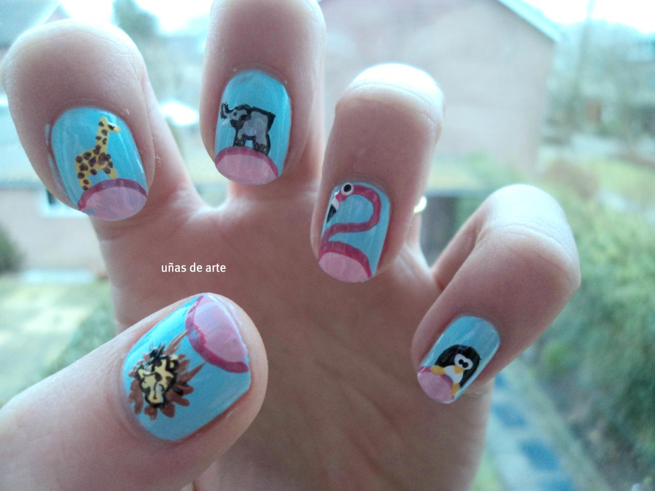 Animal Nails Uas De Arte