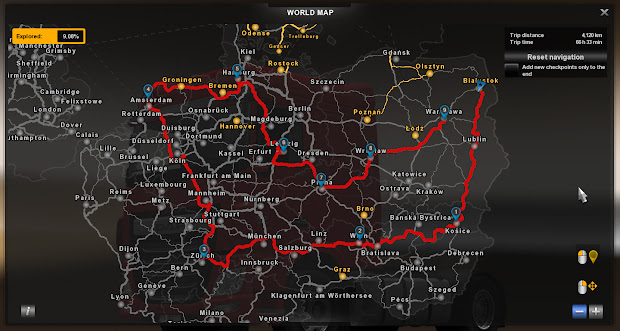 euro truck simulator 2 set your gpss ets2 update 120 open beta