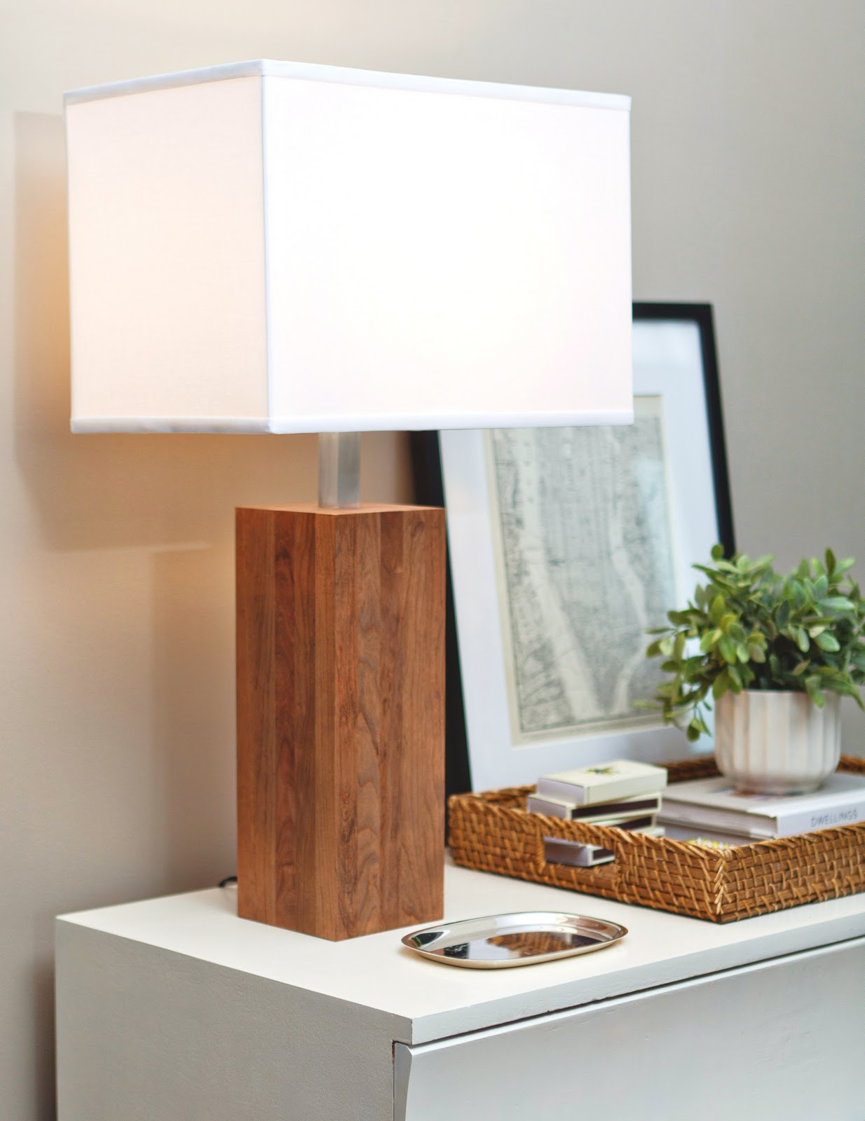 High street market winston wood table lamp todays sneak peek is our winston wood table lamp its one of our favorites inspired by mid century danish design we created this table lamp specifically geotapseo Choice Image