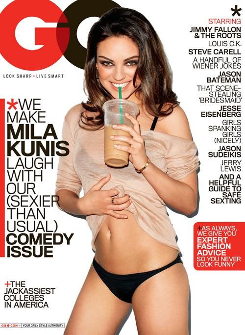 Mila Kunis GQ Magazine Cover Photoshoot