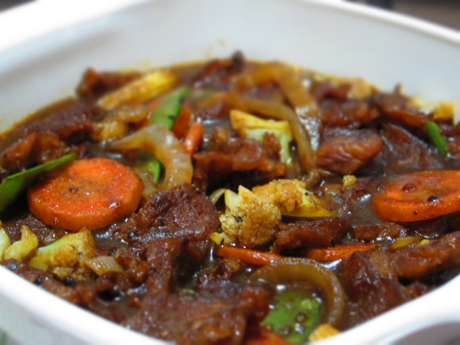 Taste Buds...: Daging Masak Black Pepper...