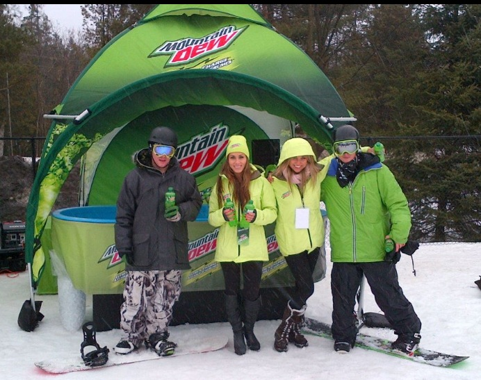 how to get free mountain dew