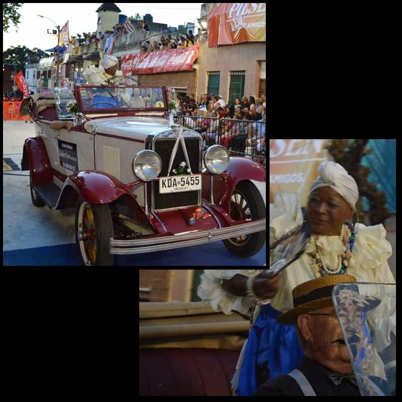 Carnaval. Desfile de Llamadas. tía Tina.