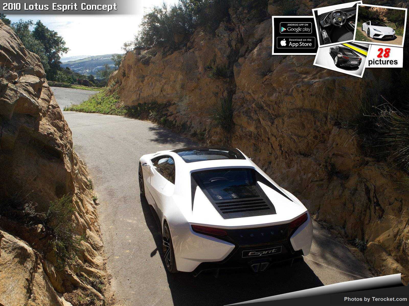 Hình ảnh siêu xe Lotus Esprit Concept 2010 & nội ngoại thất