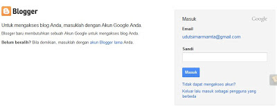 masukan Gmail