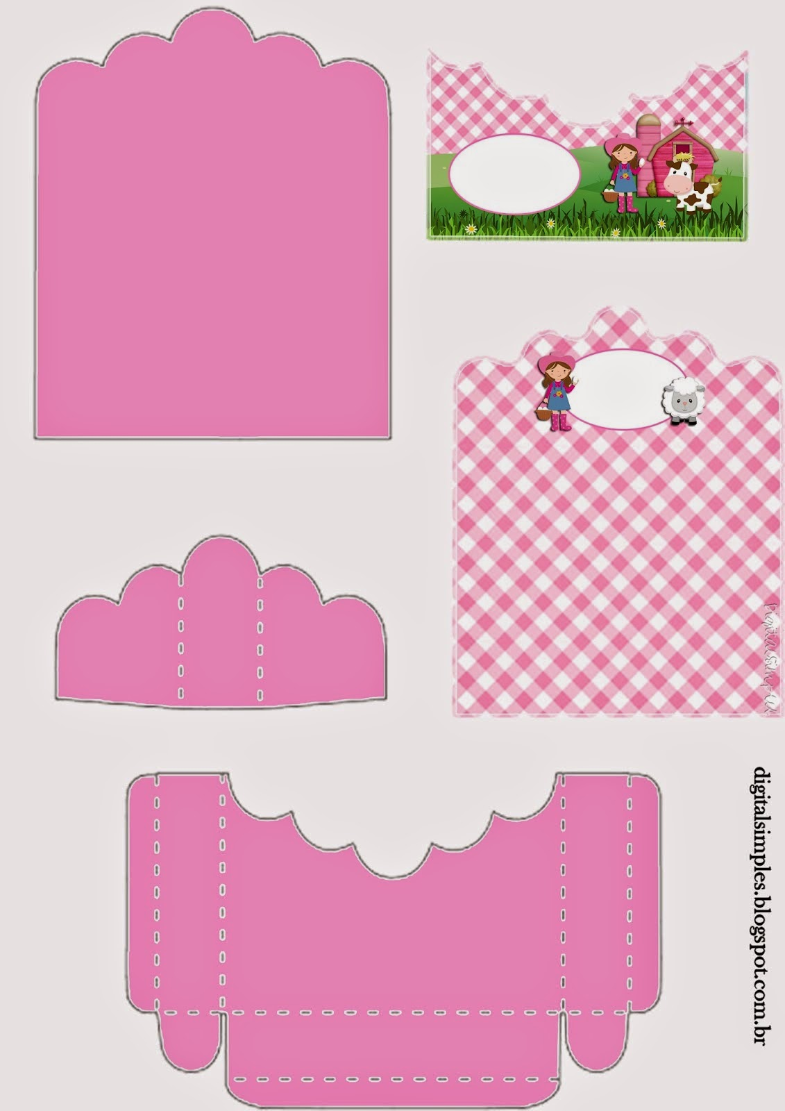 The Farm for Girls: Free Printable Candy Package Support.