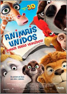 Filme Poster Animais Unidos Jamais Serão Vencidos BRRip Line XviD Dual Audio & RMVB Dublado