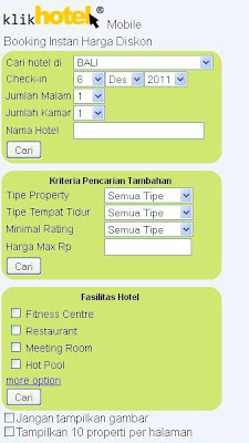 Booking Hotel Murah di Bali via KlikHotel