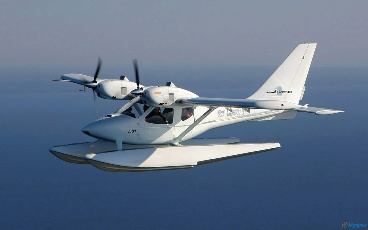 Aeroprakt Samara in the Sky
