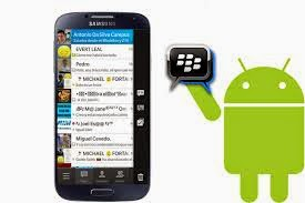 Download Blackberry Messenger Android Aplikasi Keren