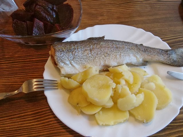 riba iz pećnice