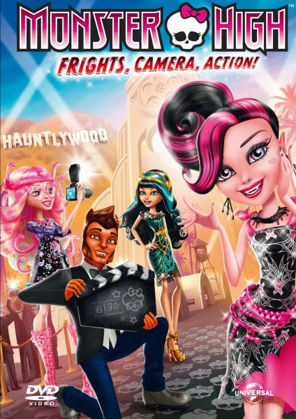 Ngôi Sao Điện Ảnh - Monster High: Frights, Camera, Action