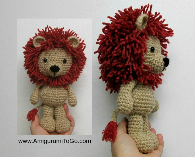 Amigurumi Lion Free : One More Revised LBF On The Way! ~ Amigurumi To Go