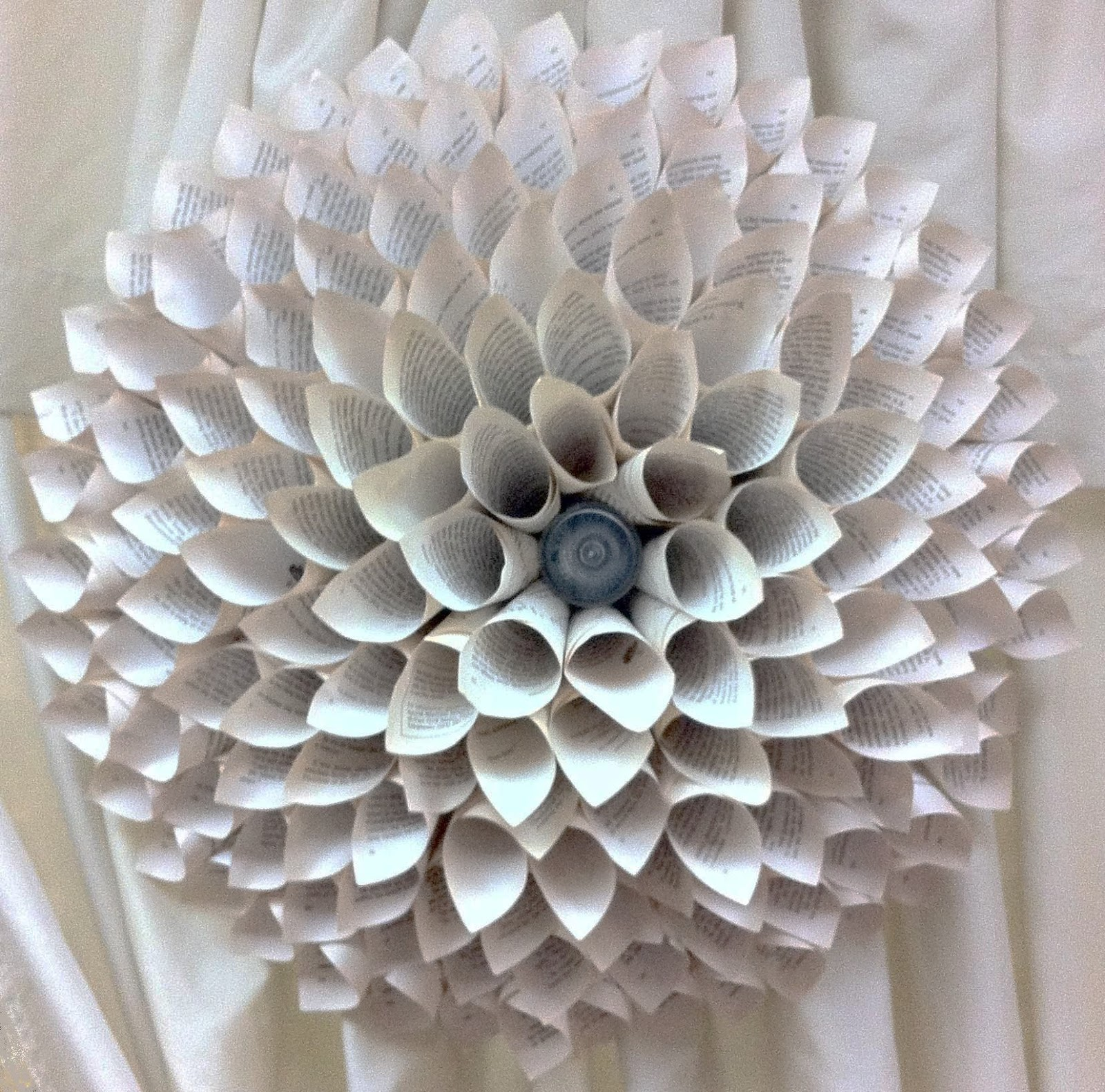 How To Make Wall Decor With Paper : The enchanted petal how to make a paper flower medallion