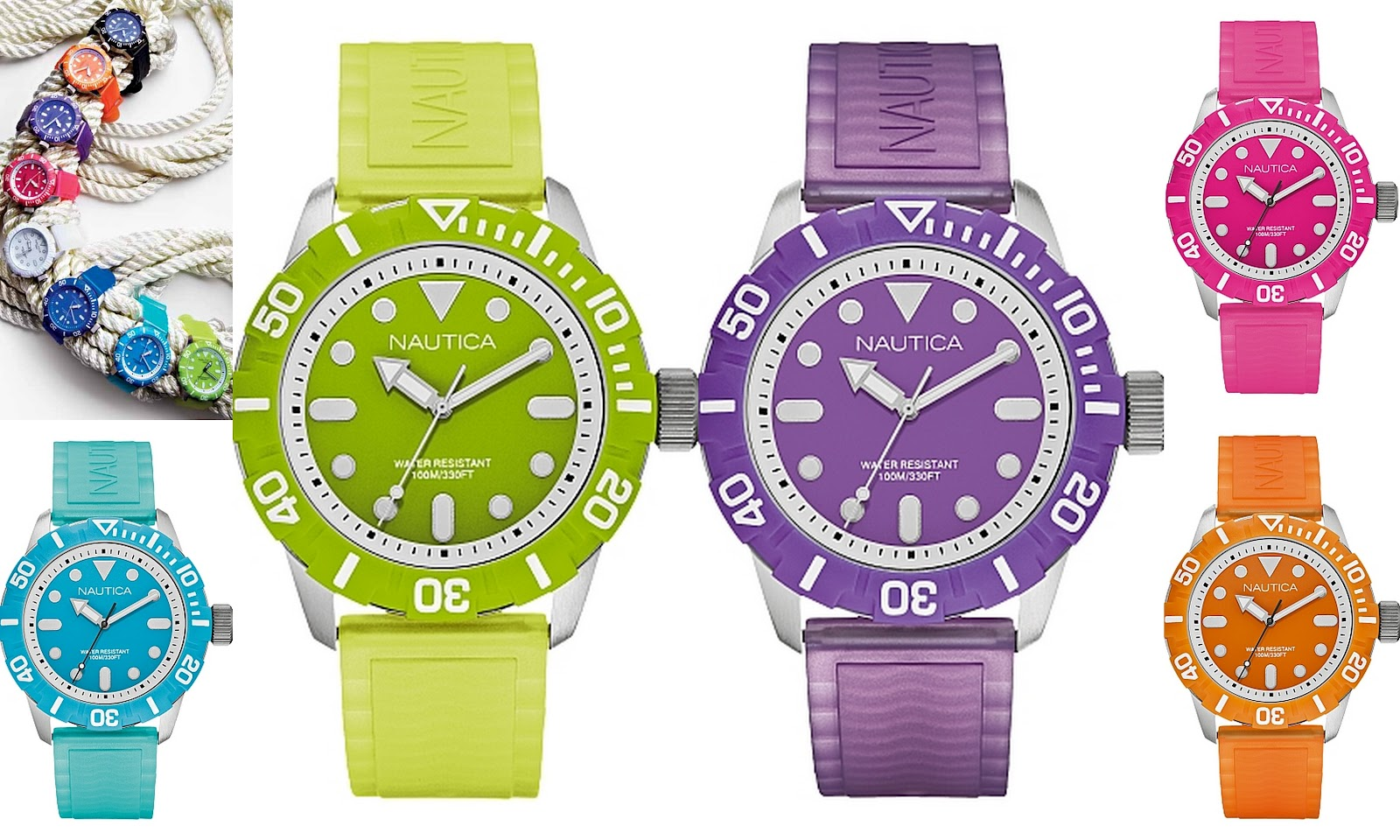 nautica has released a new color series of unisex watches nsr 100 color series - Color Watches