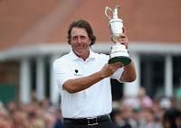 GOLF-Mickelson se alza con el British Open 2013