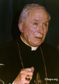 La posizione di Monsignor Lefebvre