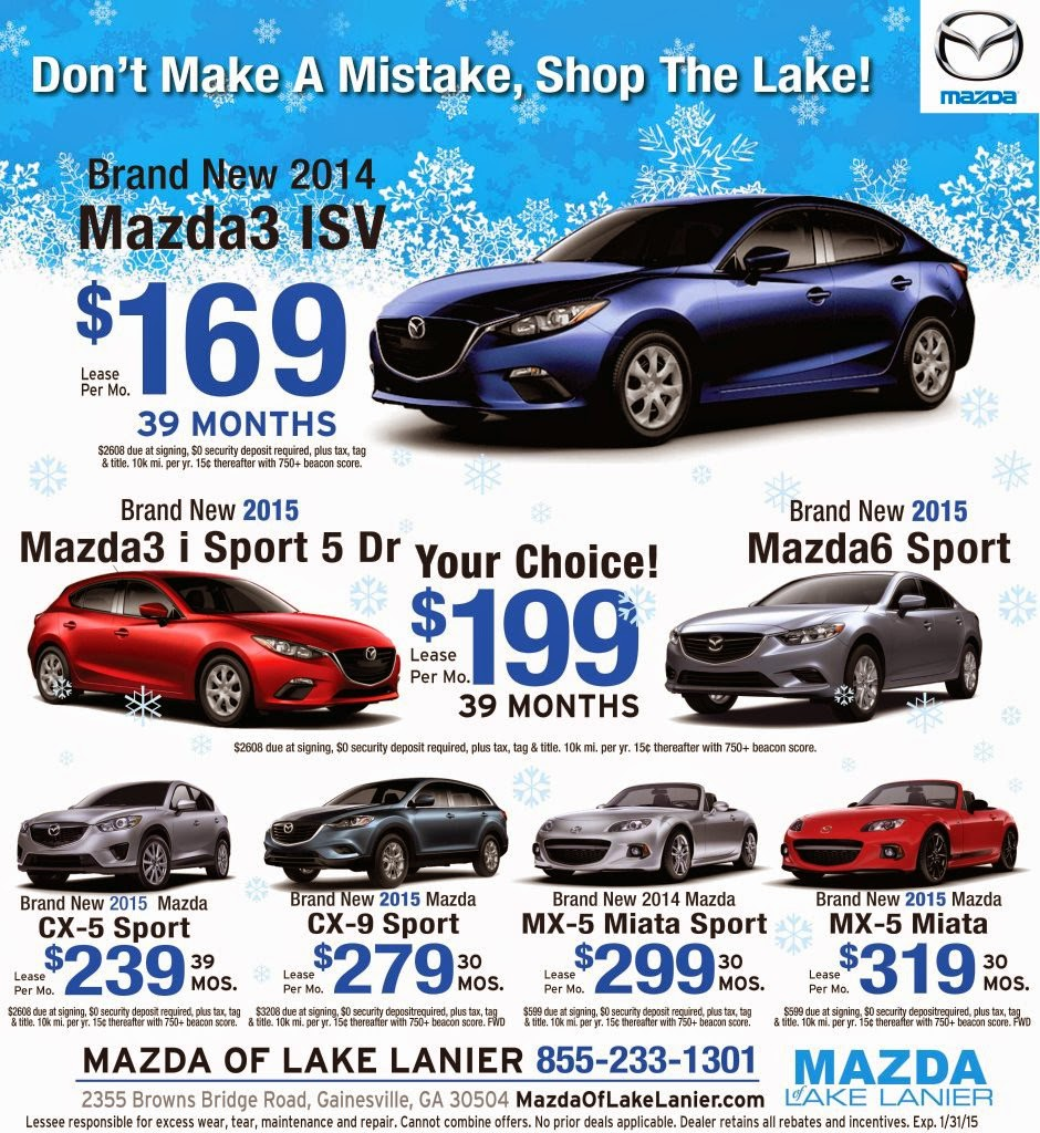 Toyota Of Gainesville: Mazda Of Lake Lanier