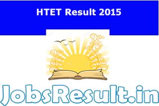 HTET Result 2015