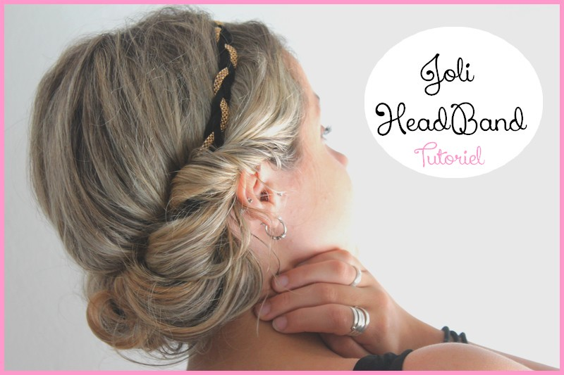 tutoriel coiffure avec headband. Black Bedroom Furniture Sets. Home Design Ideas