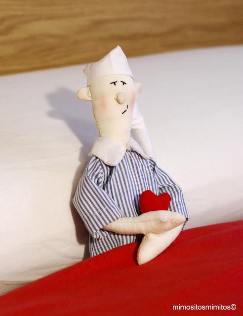 muñeco de tela hecho a mano personalizado customizado