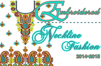 Embroidered Neckline 2014