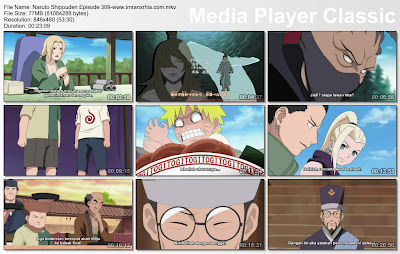 "Download Film / Anime Naruto Episode 309 ""Misi tingkat A : Perlombaan"" Shippuden Bahasa Indonesia"
