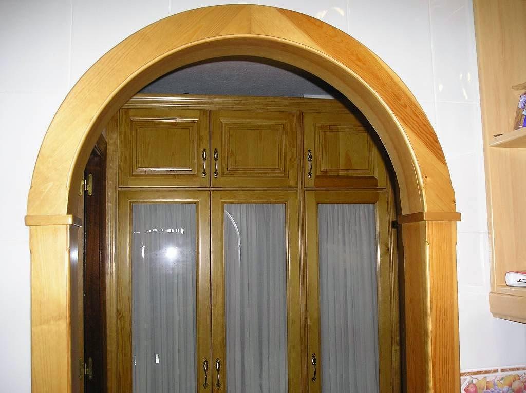 Arcos decorativos en madera muebles cansado zaragoza - Arcos de madera para jardin ...