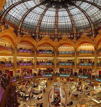 Paris'te Alışveriş Merkezi