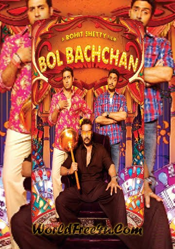 Poster Of Hindi Movie Bol Bachchan (2012) Free Download Full New Hindi Movie Watch Online At worldfree4u.com