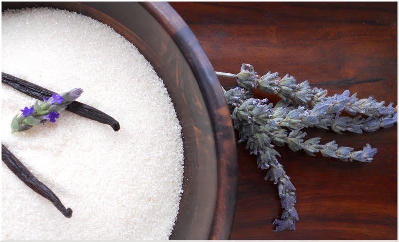 ... : What's for dessert? Lavender & Vanilla Bean Sugar Frozen Yogurt