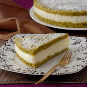 Arabic Food Recipes: Semolina and Pistachio Cake - How to ...