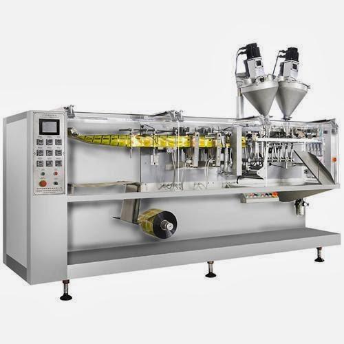 horizontal liquid filling packaging machine auto líquido horizontal máquina de llenado de envases