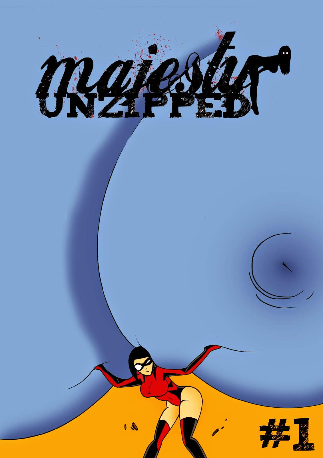 Majesty Unzipped #1 Erotic Digital Comic
